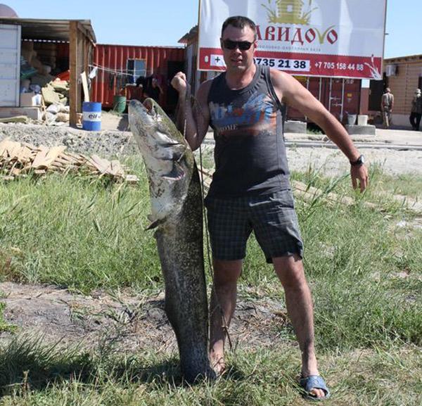 видео рыбалка в костанае