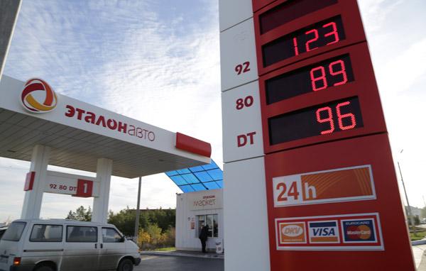 Цена на казахстанский бензин сильно зависит от российской