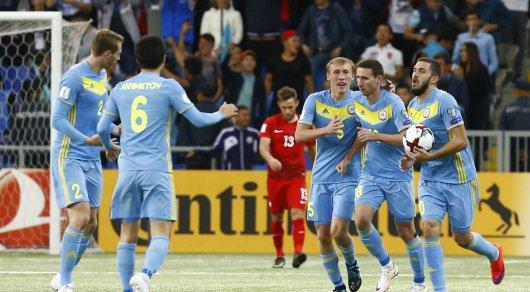 Сборная Казахстана свела вничью матч споляками