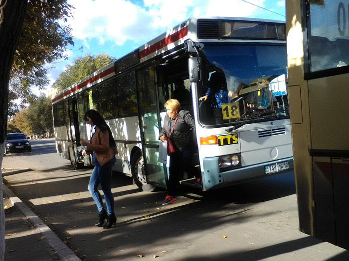 Автобус № 18 мы проверили в качестве дачного маршрута 3 октября