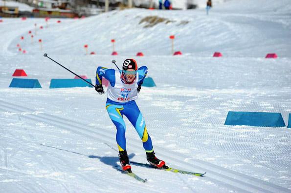 Лыжную трассу длиной 10 км Сергей Косоня преодолел за 26 минут 58 секунд