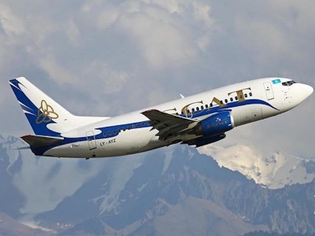 Самолету SCAT довелось вернуться ваэропорт Астаны