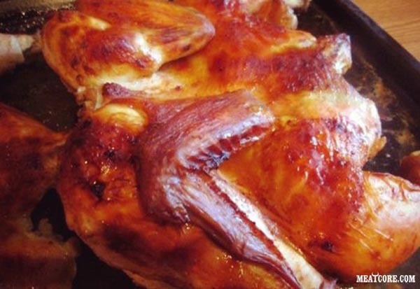 Курица в духовке простой рецепт с фото