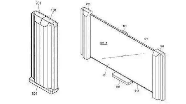 Самсунг получила патент нателевизор соскладывающимся дисплеем