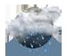 небольшой проливной дождь